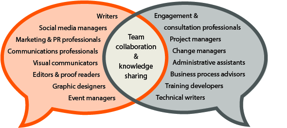 Team collaboration and knowledge sharing