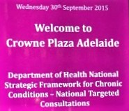 National Strategic Framework for Chronic Conditions Targeted Consultations