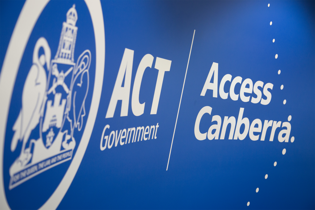 Access Canberra – Chief Minister, Treasury and Economic Development Directorate