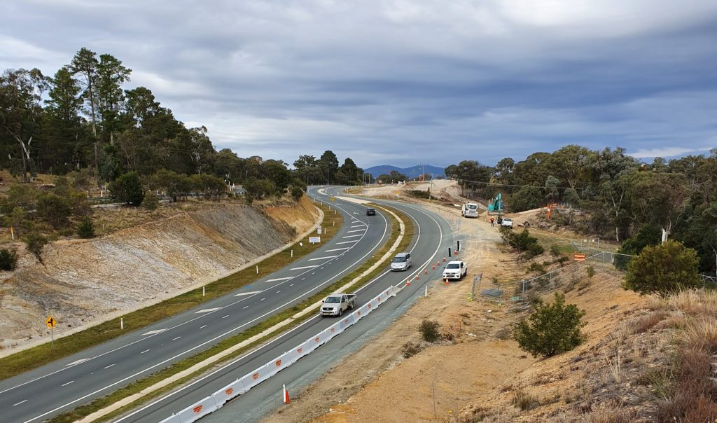 WBHO Infrastructure – Old Cooma Road